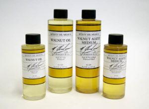 M_Graham_walnut_and_walnut_alkyd_oil_group