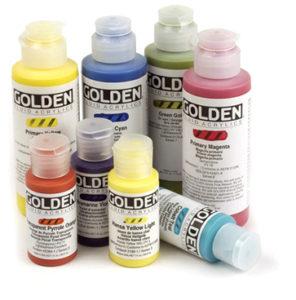 SnC Golden Fluid Acrylics